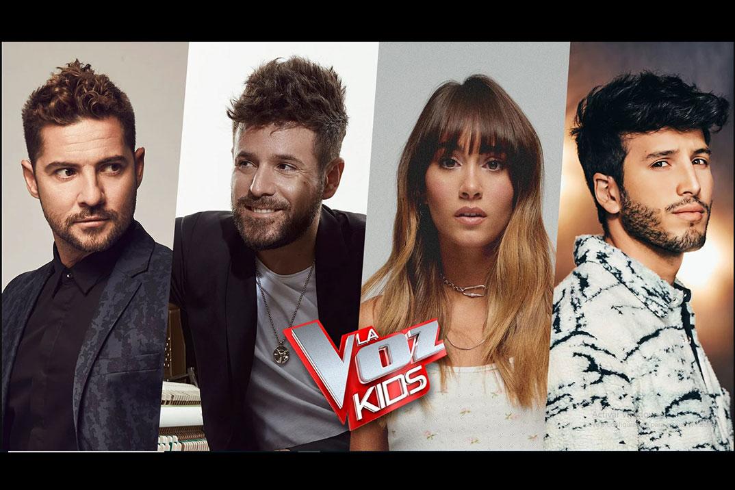 Aitana, David Bisbal, Pablo López y Sebastián Yatra serán los coaches de la próxima edición de 'La Voz Kids'