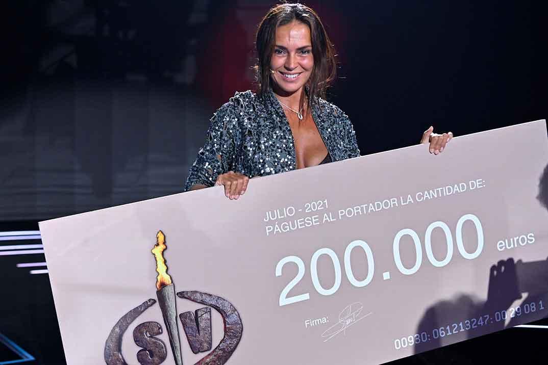Olga Moreno -Supervivientes 2021 © Mediaset