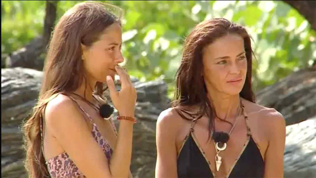Melyssa Pinto y Olga Moreno - Supervivientes © Telecinco