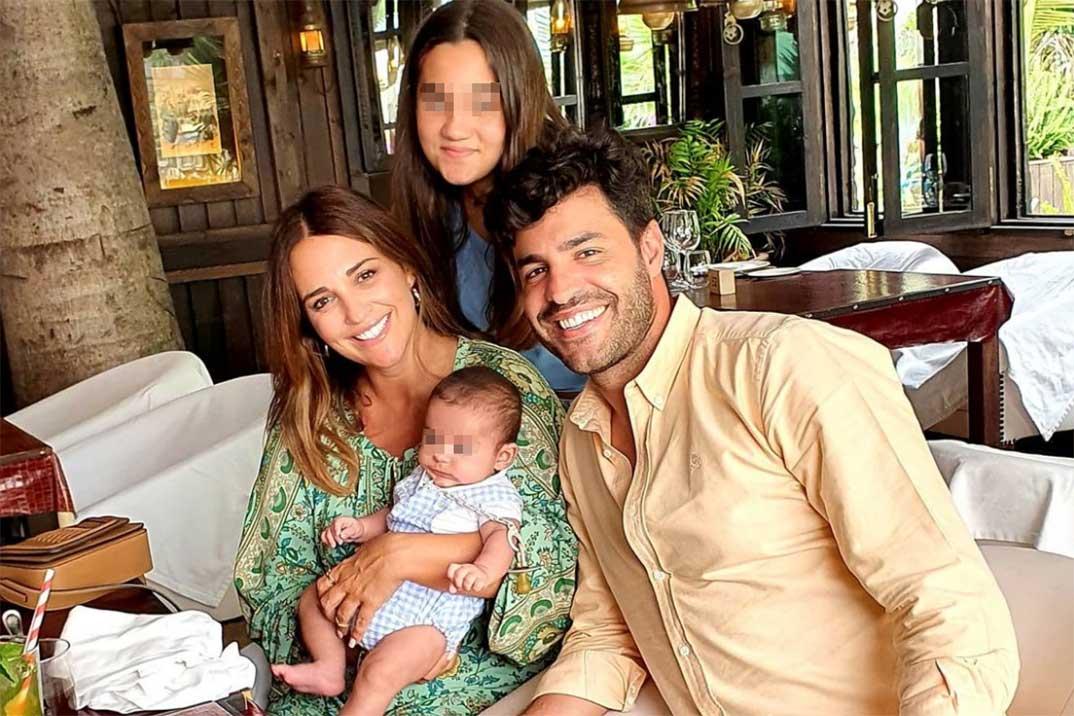 La tierna felicitación de Paula Echevarría a su hijo Miguel Jr por sus tres meses de vida