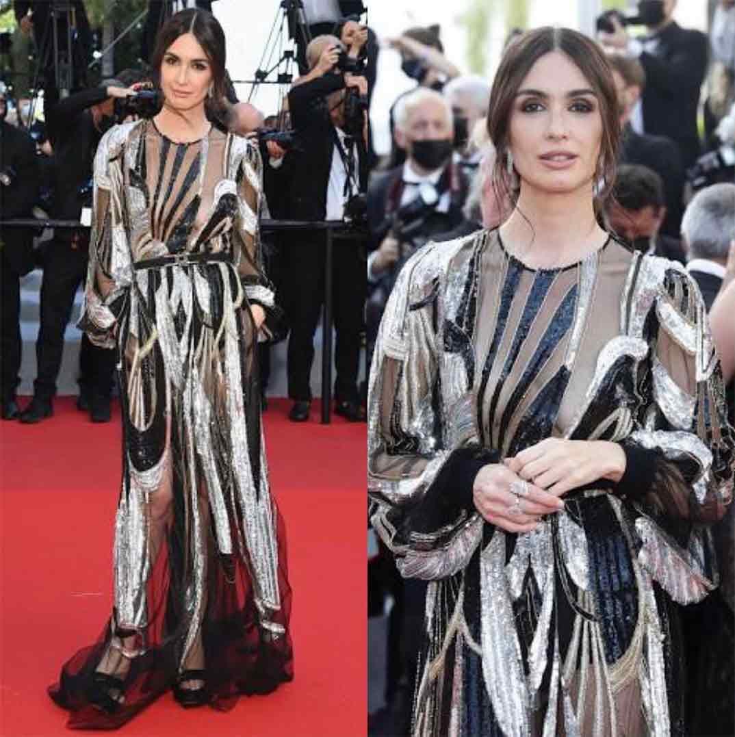 Paz Vega - Cannes 2021 © Instagram