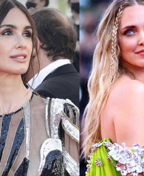 Paz Vega y Chiara Ferragni, duelo de elegancia sobre la red carpet de Cannes