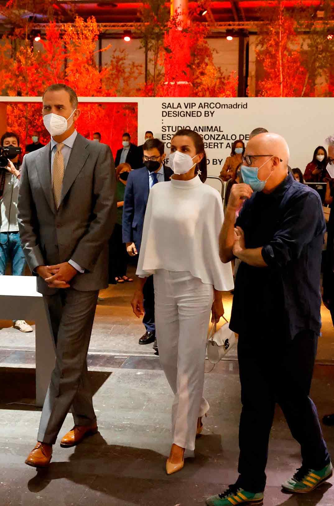 Reyes Felipe y Letizia - ARCO © Casa S.M. El Rey