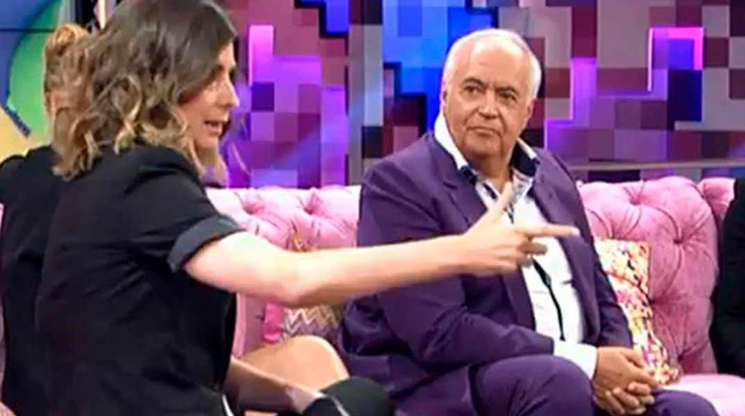 Sandra Barneda y José Luis Moreno - Hable con ellas © Telecinco