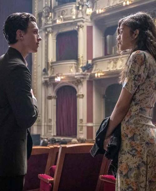 El beso que confirma la relación entre Zendaya y Tom Holland
