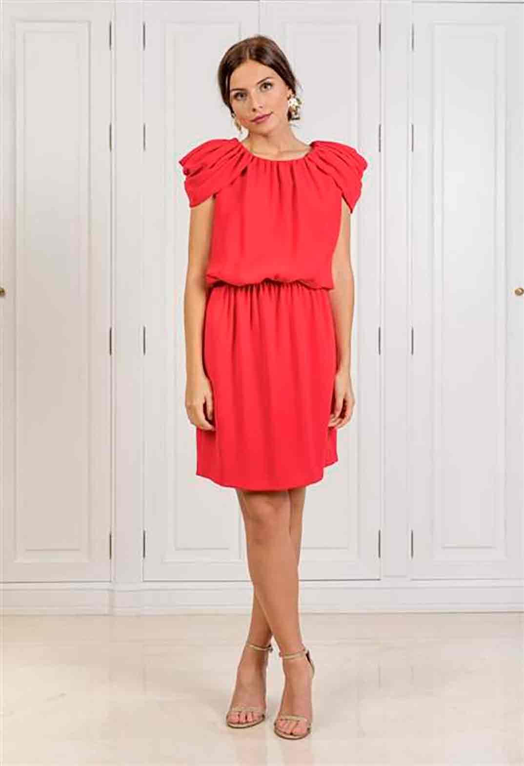Vestido rojo Bgo & Me - Princesa Leonor