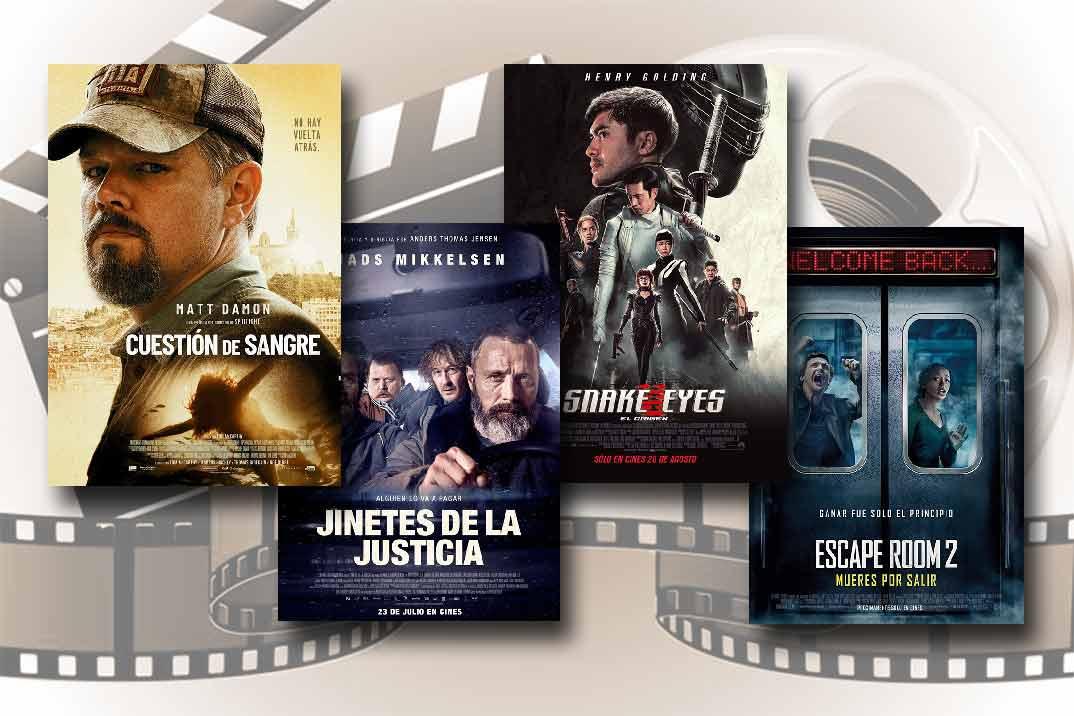Estrenos de Cine de la Semana… 13 de Agosto 2021