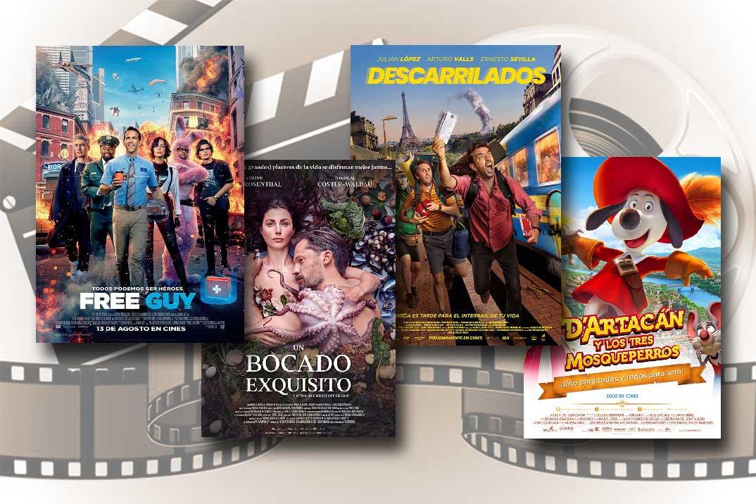 Estrenos de Cine de la Semana… 20 de Agosto 2021