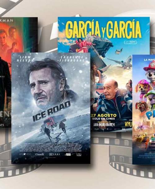 Estrenos de Cine de la Semana… 27 de Agosto 2021