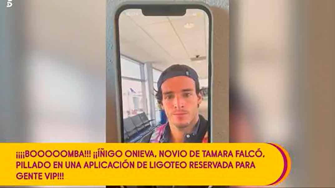 Iñigo Onieva - app para ligar © Telecinco