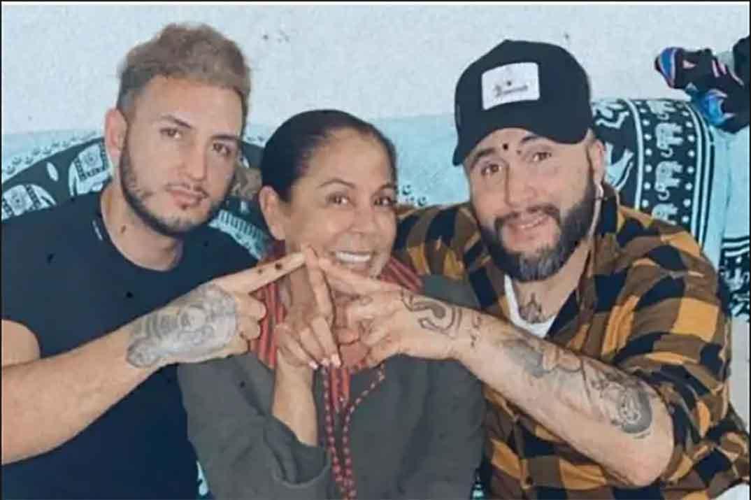 Omar Montes, Isabel Pantoja y Kiko Rivera © Instagram