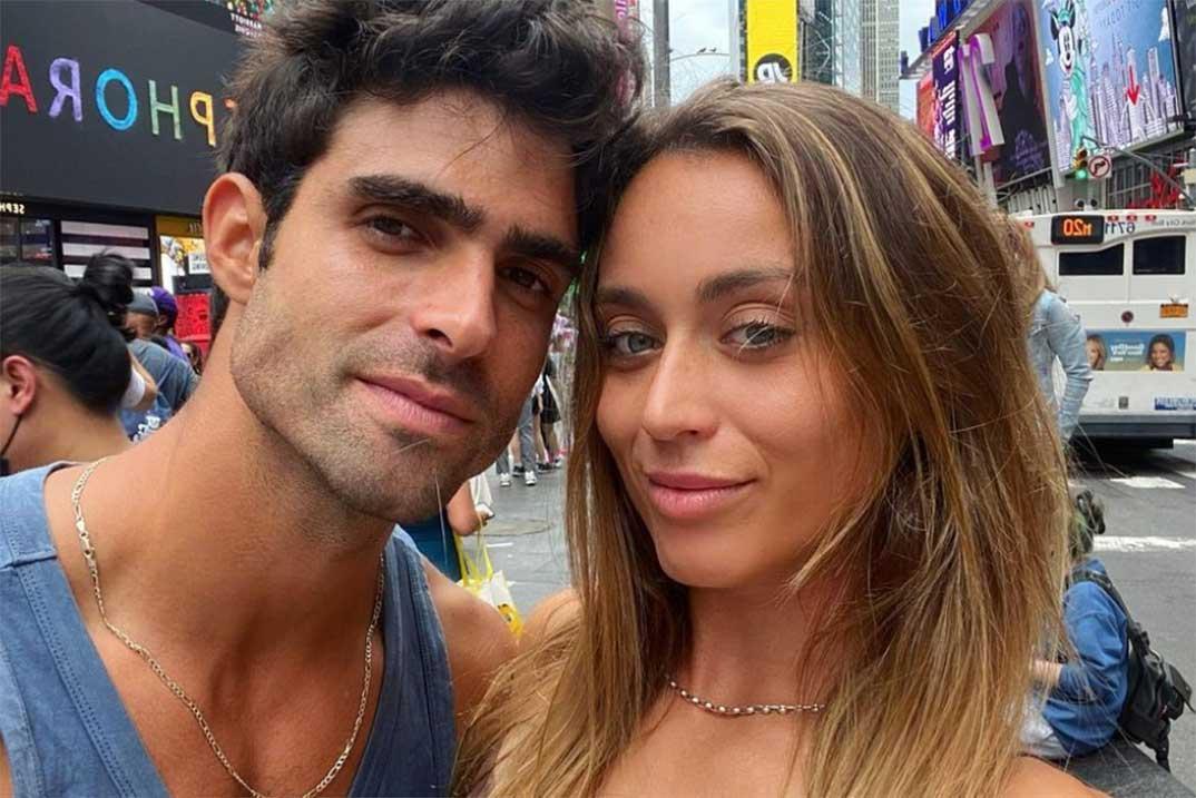 Juan Betancourt y Paula Badosa © Instagram