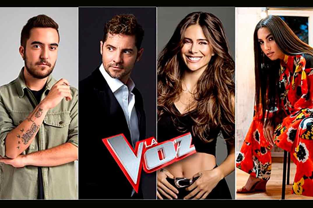 Beret, David Bisbal, Greeicy y María José Llergo - Asesores 'La Voz' © Antena 3