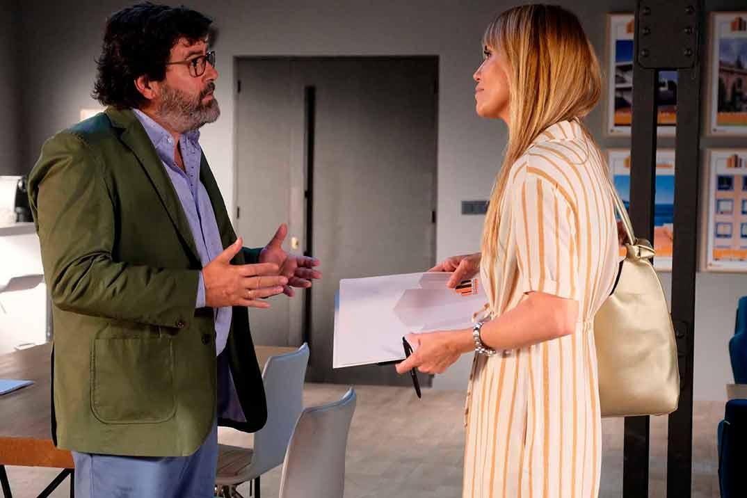 Raquel Meroño y Fernando Soto - Servir y proteger © RTVE