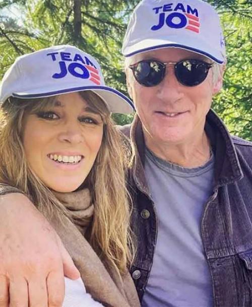 Richard Gere y Alejandra Silva, vacaciones en familia en Galicia