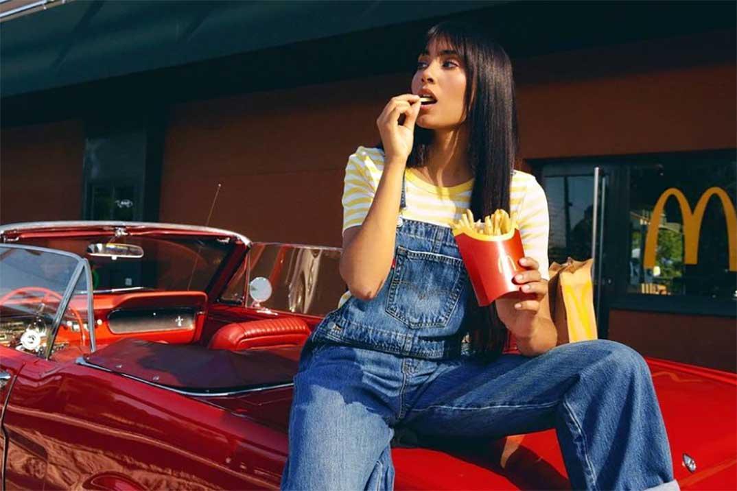 Aitana y su colaboración con McDonald's revolucionan las redes