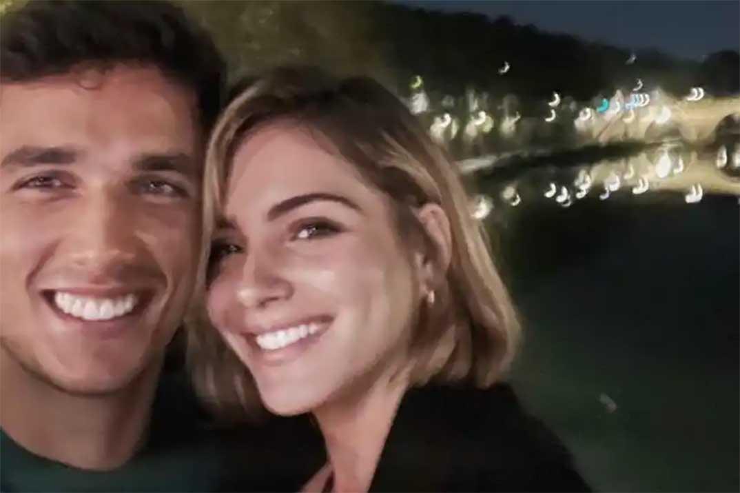 Andrea Duro y Alejandro Galán pasean su amor por Roma