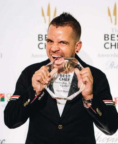 David Muñoz es elegido como mejor cocinero del mundo