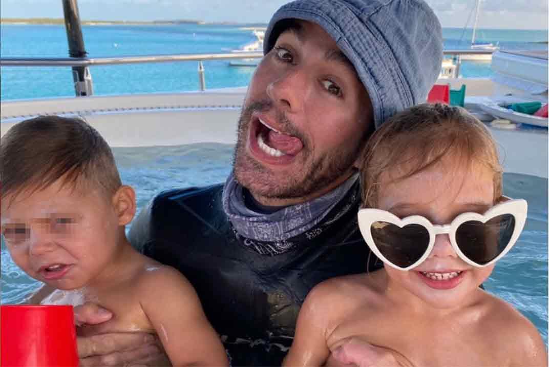 Los tres hijos de Enrique Iglesias y Anna Kournikova juntos por primera vez