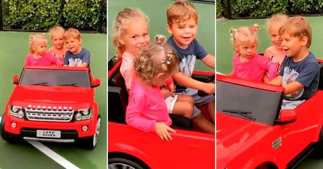 Anna Kournikova y Enrique Iglesias hijos © Instagram