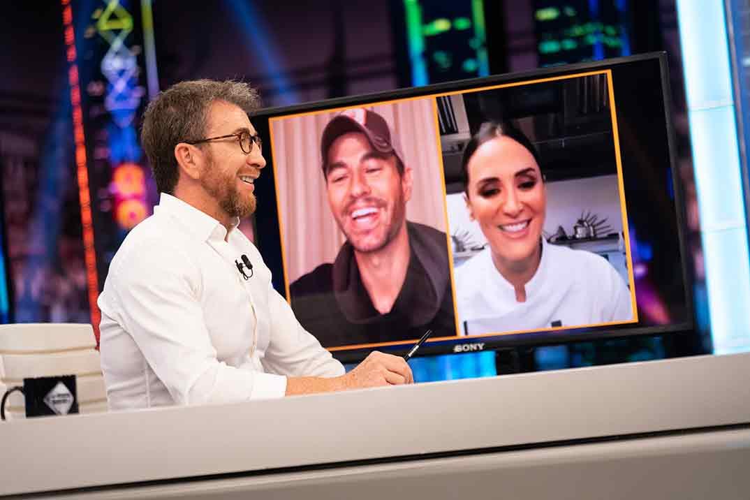 'El Hormiguero' reúne a Enrique Iglesias y su hermana Tamara Falcó