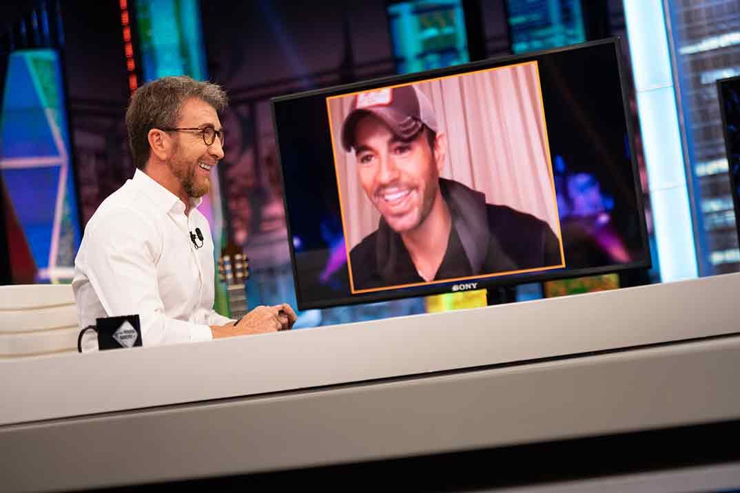 Enrique Iglesias y Pablo Motos - El Hormiguero © Antena 3