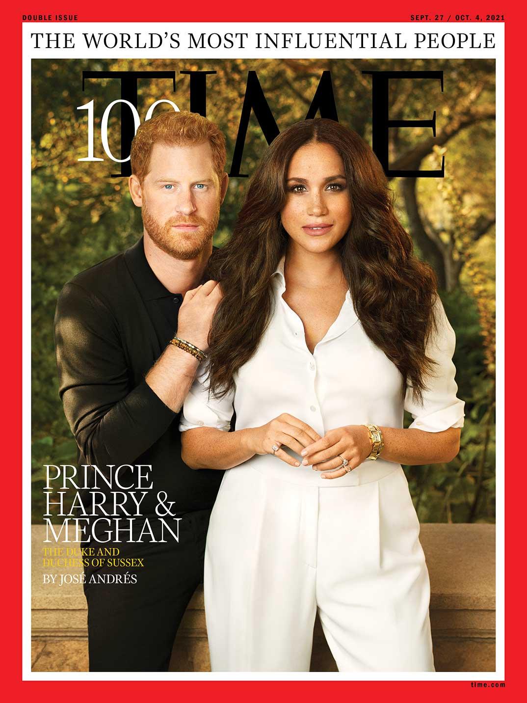 Príncipe Harry y Meghan Markle - Revista Time