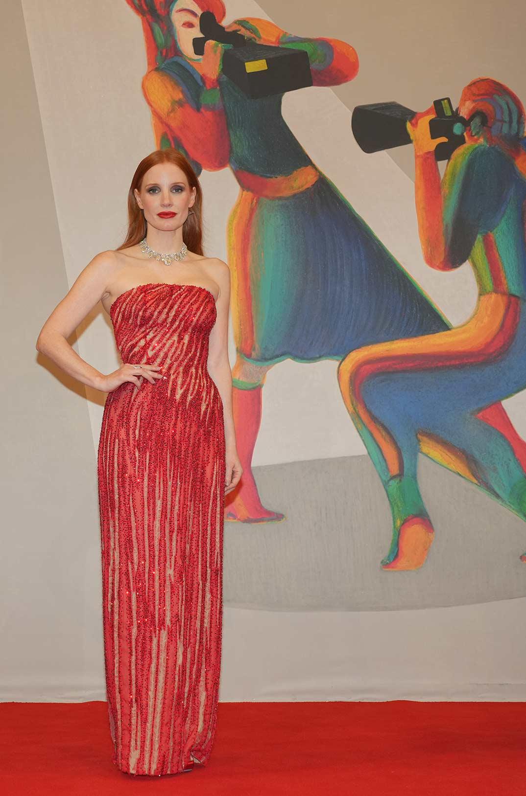 Jessica Chastain © La Biennale di Venezia - Foto ASAC de A Avezz