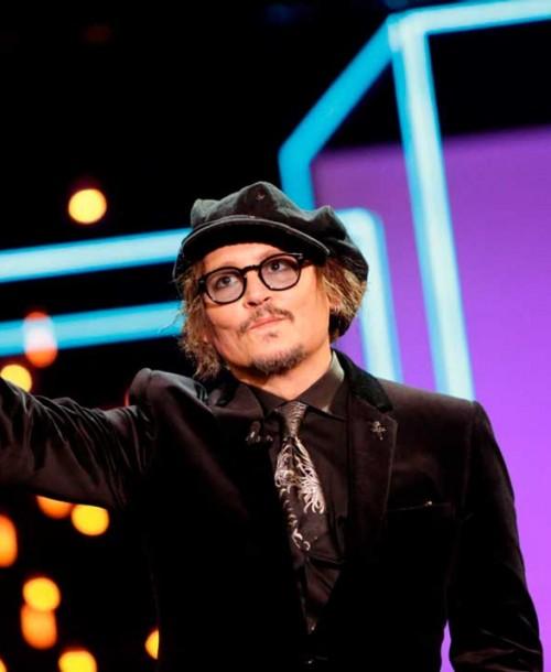 Johnny Depp recibe el Premio Donostia en reconocimiento a toda su carrera