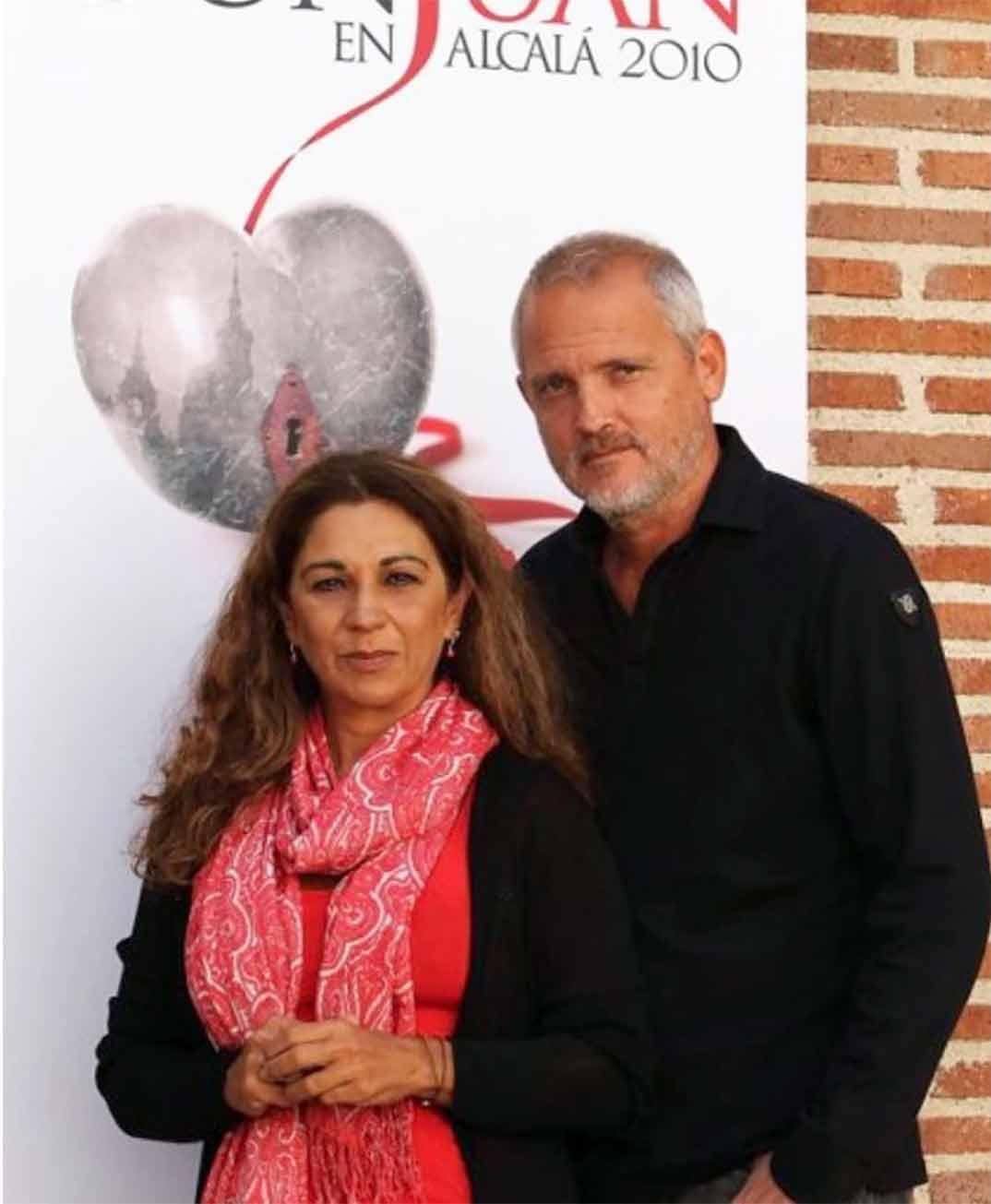Jordi Rebellón con Lolita Flores © Instagram