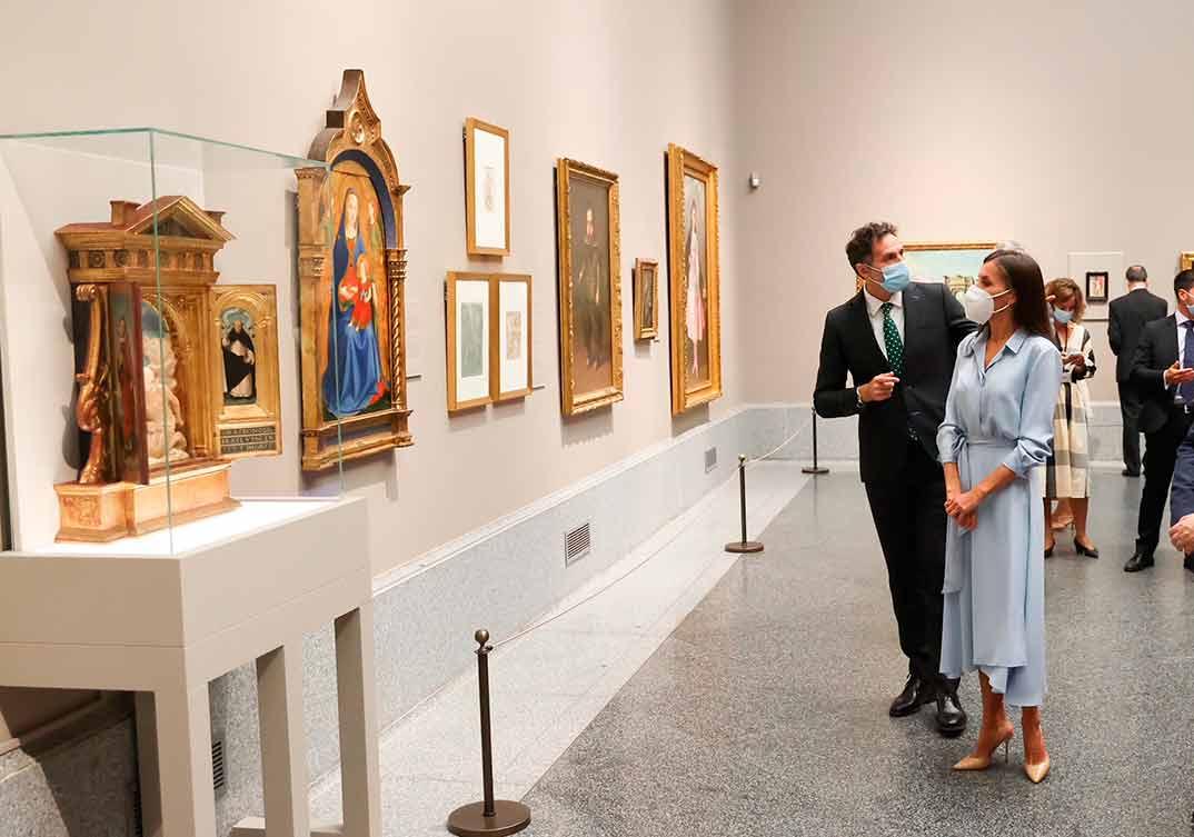 Reina Letizia - Museo Nacional del Prado © Casa S.M. El Rey