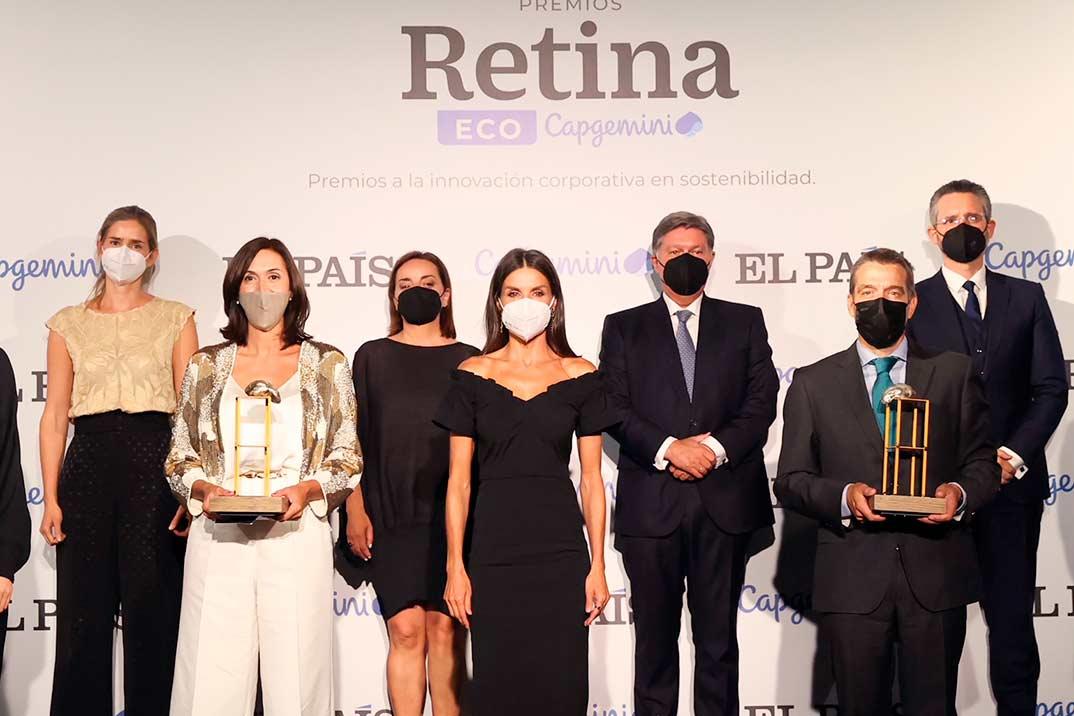 Reina Letizia - Premios Retina ECO © Casa S.M. El Rey