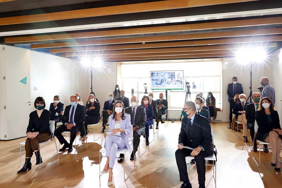Reina Letizia - Día Mundial de la Investigación contra el Cáncer © Casa S.M. El Rey