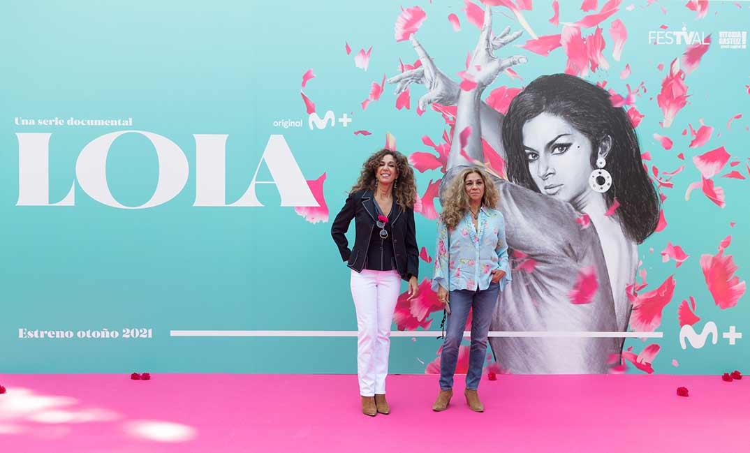 Lolita y Rosario Flores © Movistar+/FestVal Vitoria