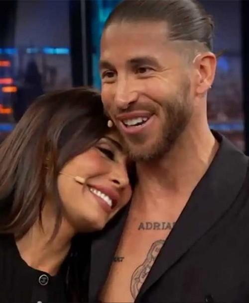 Sergio Ramos le da una sorpresa a Pilar Rubio en 'El Hormiguero'