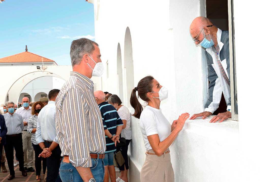 Así ha sido la visita de los Reyes a la isla de La Palma