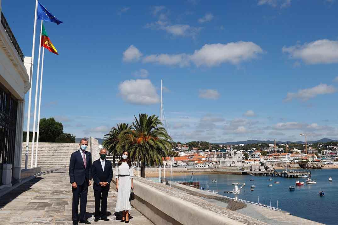 Reyes Felipe y Letizia - Champalimaud Foundation. Lisboa (Portugal) © Casa S.M. El Rey