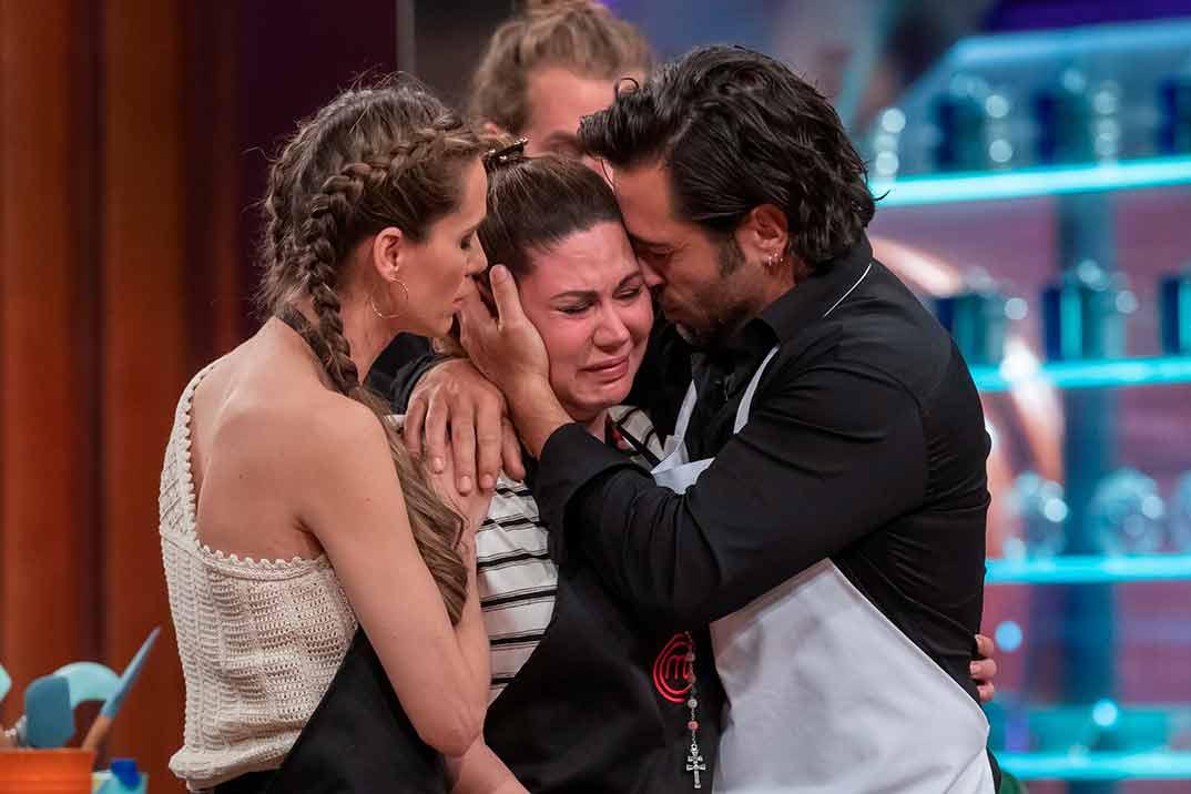 Las lágrimas de Tamara tras ser la primera expulsada de 'MasterChef Celebrity'