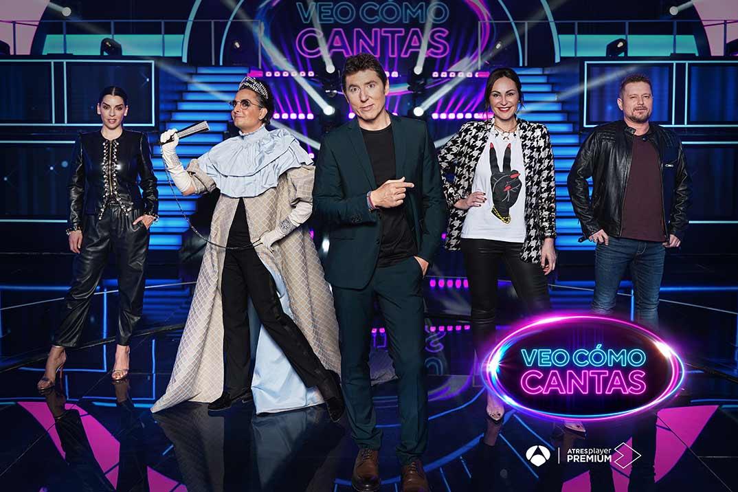 'Veo cómo cantas', el nuevo fenómeno internacional de la televisión, llega a Antena 3