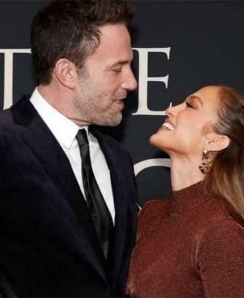 Jennifer Lopez acapara todas las miradas en la noche mas especial de Ben Affleck