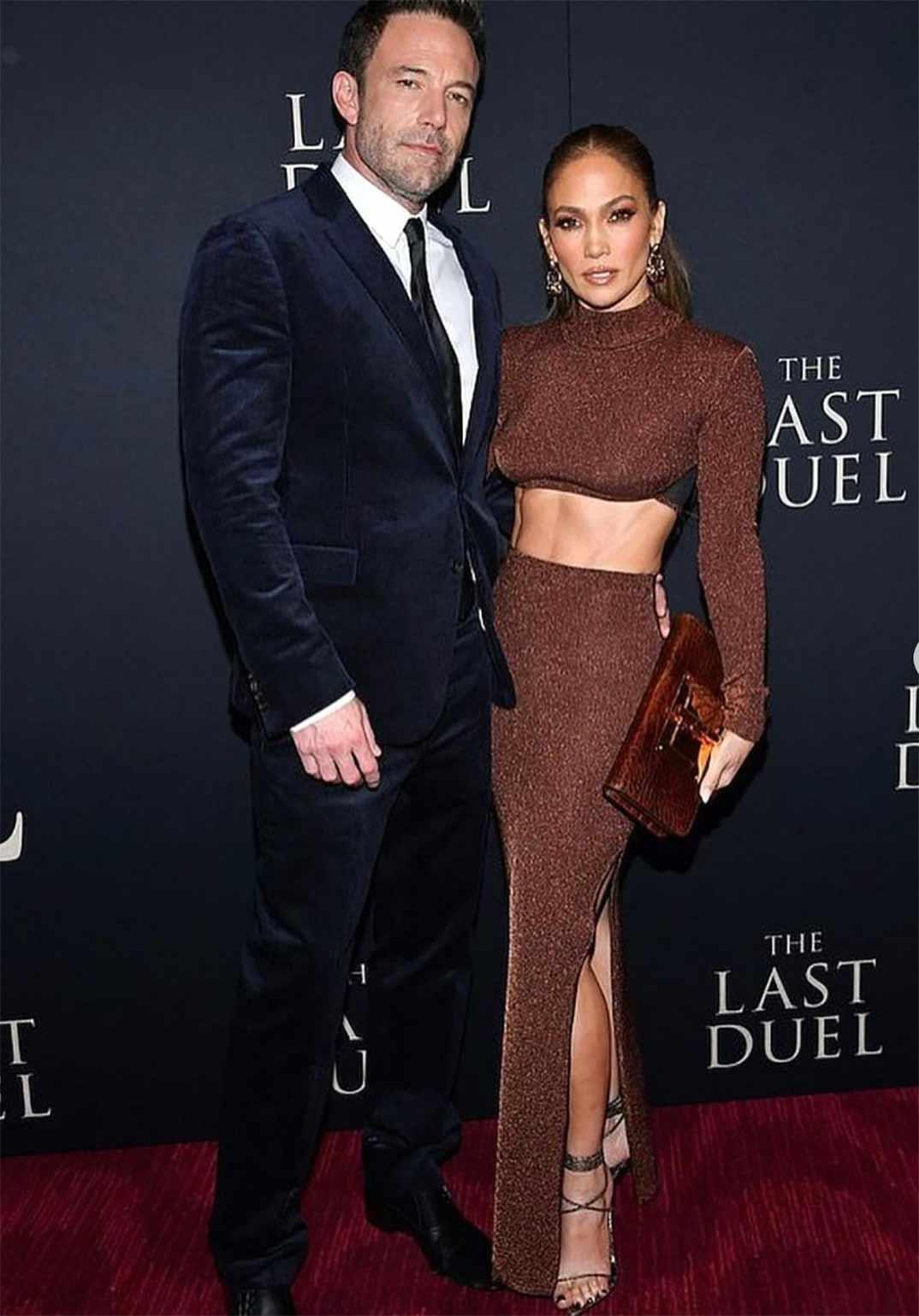 Ben Affleck y Jennifer López © Instagram