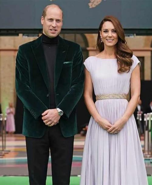 Emma Watson y Kate Middleton duelo de estilo en la alfombra roja de los Premios Earthshot