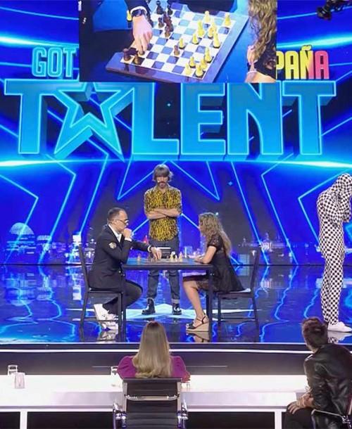 'Got Talent España': Rey Enigma desafía a Risto Mejide