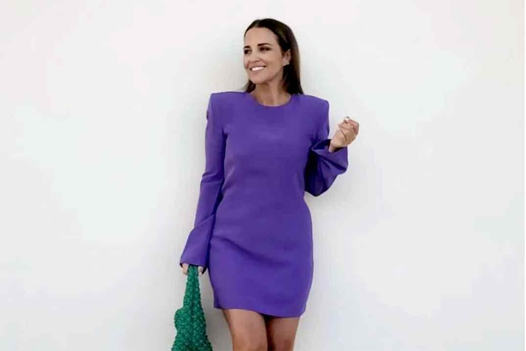 Paula Echevarría agota en pocas horas el vestido de Mango ideal para el otoño