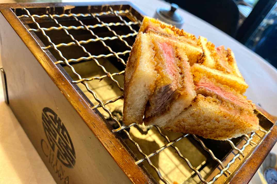 tottori Sandwich Tonkatsu