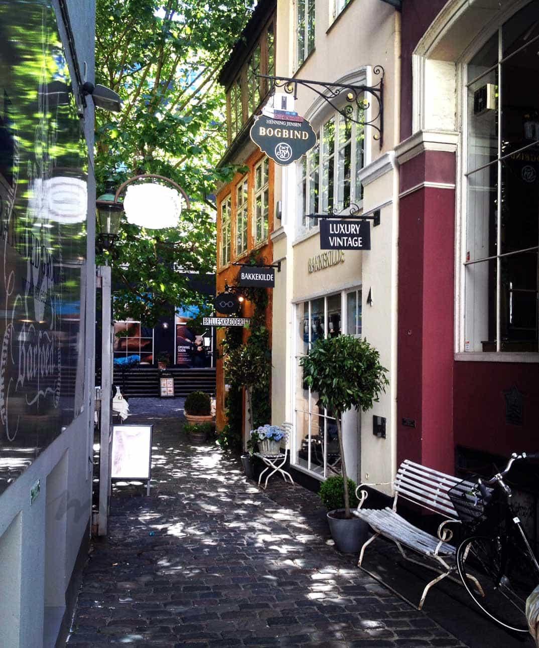 De compras por Copenhague