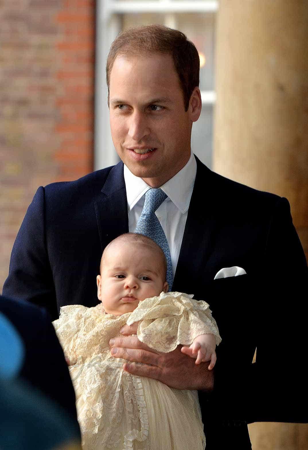 Príncipes Guillermo y George