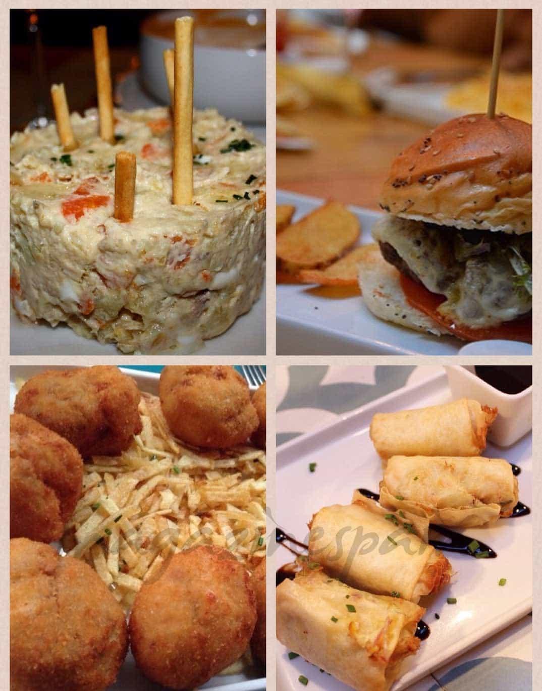 Combinación de platos