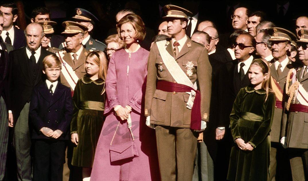Proclamación de D. Juan Carlos como Rey de España - Madrid, 22.11.1975 - © Casa S.M.El Rey