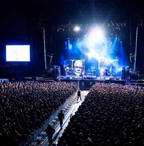 Vitoria-Gasteiz con el Azkena Rock Festival